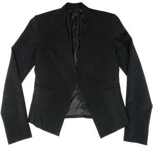 Theory Lanai Urban Stretch Wool Open Blazer XS